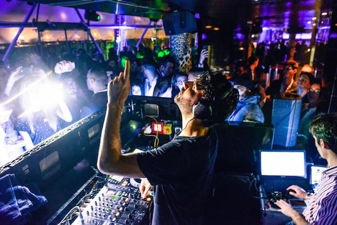 Milan nightlife guide nightclubs for dancing for Cavalli club milano