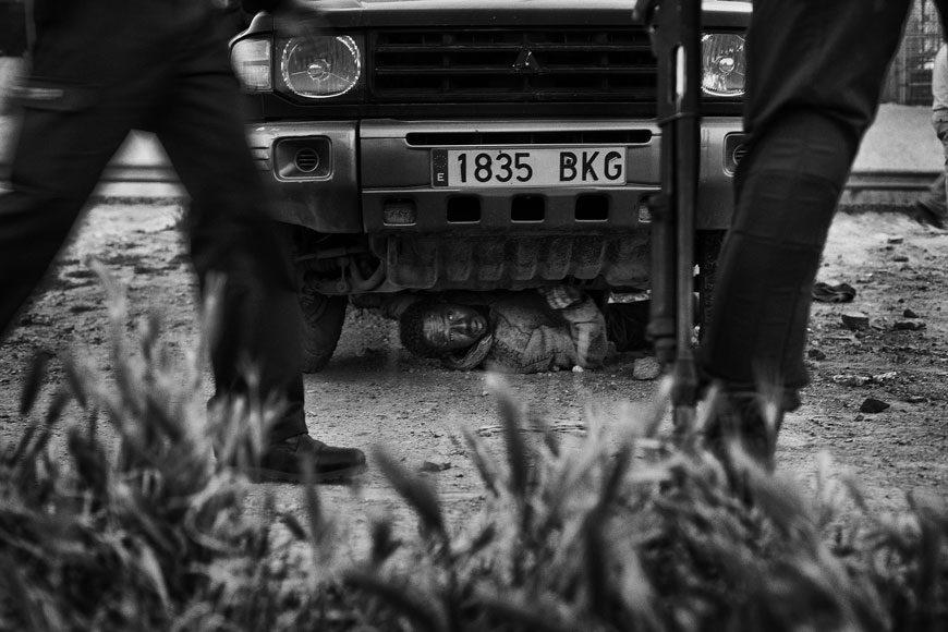 Terzo premio, Notizie generali, Foto singole Gianfranco Tripodo, Italia, Contrasto Melilla, Spagna, 24 aprile