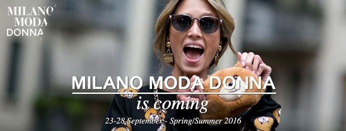 Milano Moda Donna Spring/Summer 2016