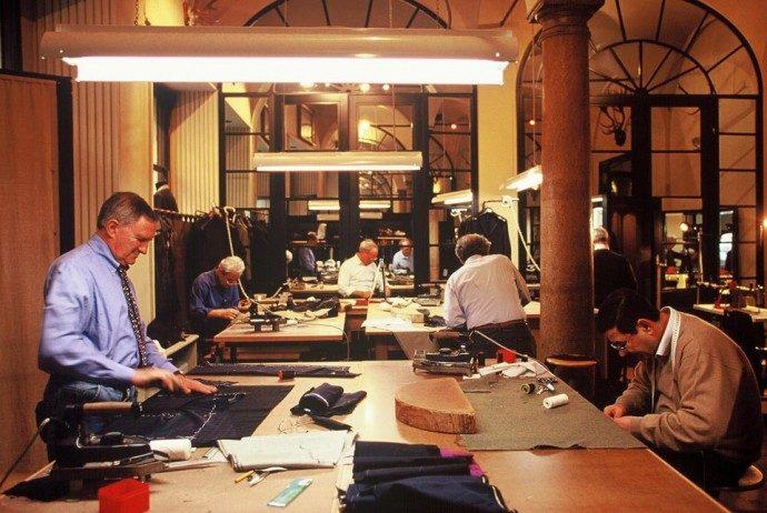 Rubinacci Ателье •одежда на заказ • Милан• шоппинг-сопровождение, заказ дистанционно