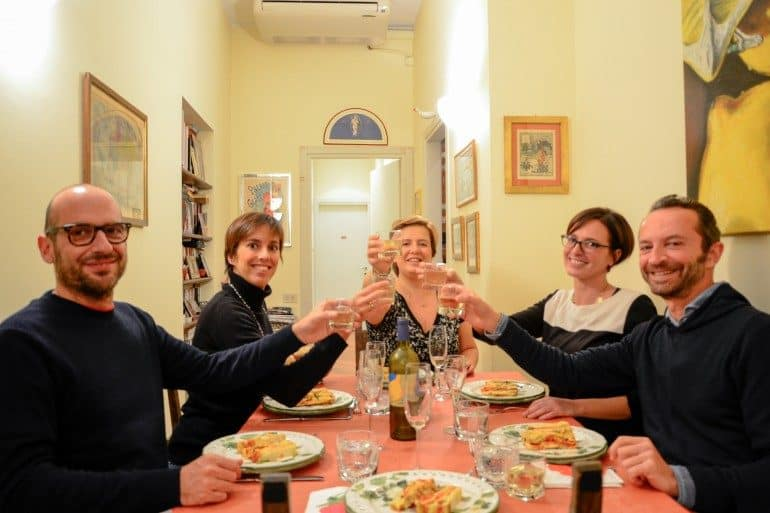 dinners with locals milan