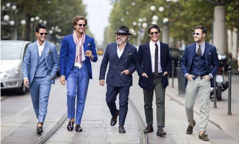 how to dress like a milanese