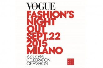 Vogues Fashion Night Out in Milan, Italy