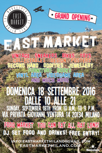 east market milano September 18